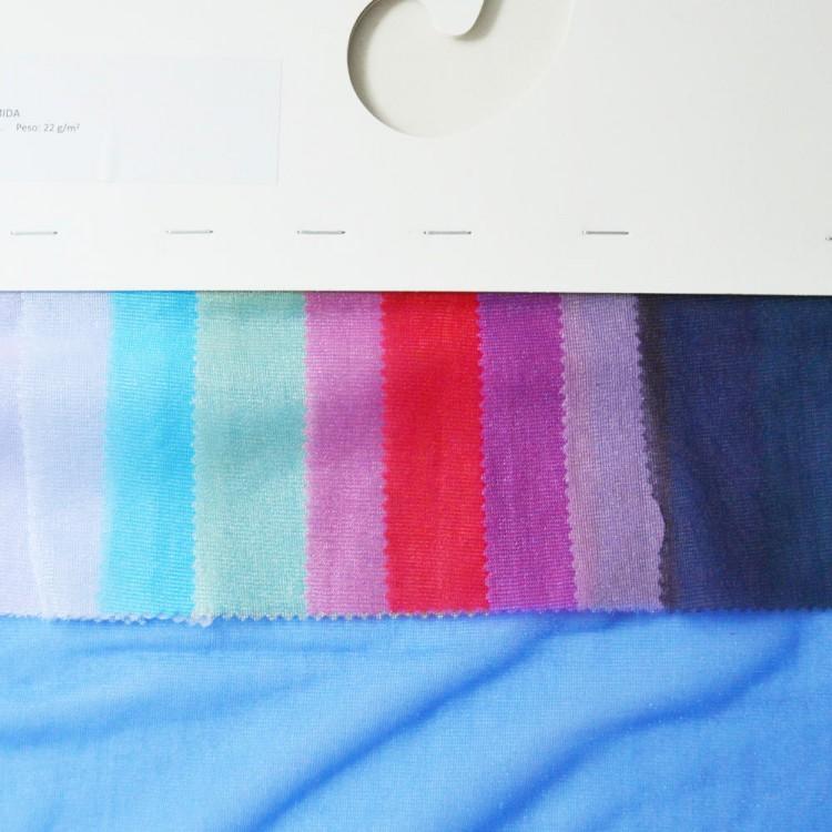 Carte couleur voile cristal