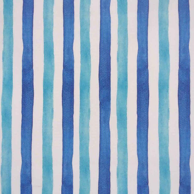 Lona exterior 2 listras azuis
