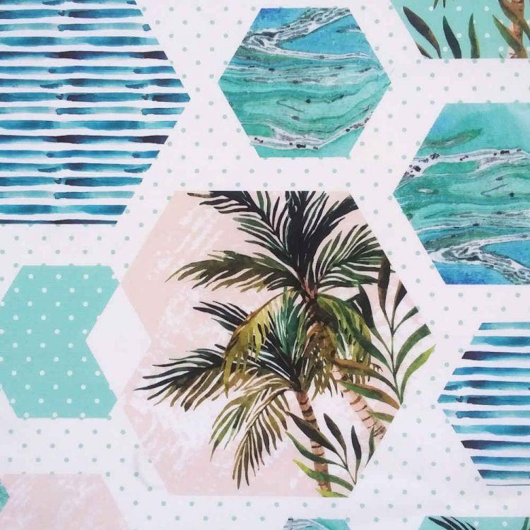 Lona exterior palmeiras